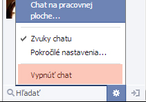 Ako vypnúť chat na FB