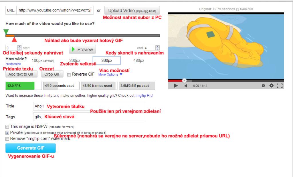 GIF z videa