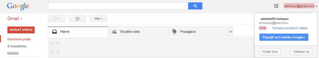 Ako zmazať Gmail