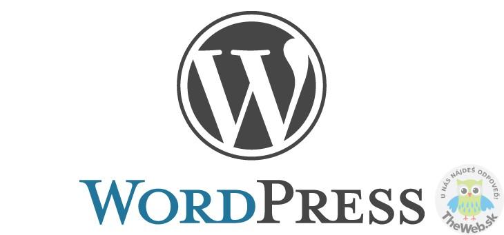 Ako nainštalovať WordPress