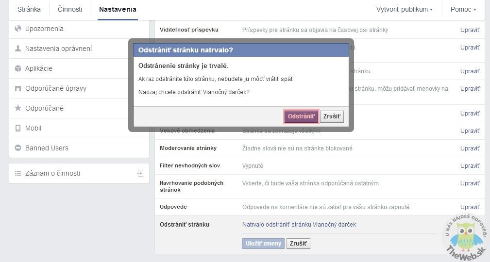 Ako vymazať skupinu na FaceBooku