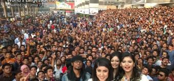 Nový rekord v počte ľudí na selfie