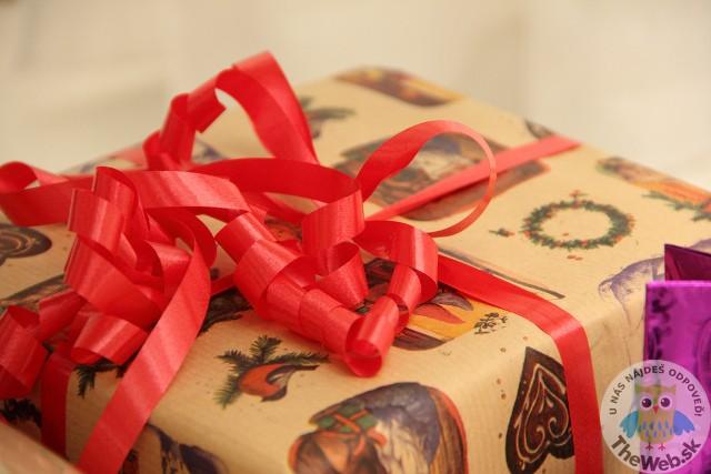 Ako zabaliť vianočný darček