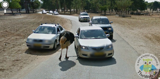 25 zábavných obrázkov z Google Street View