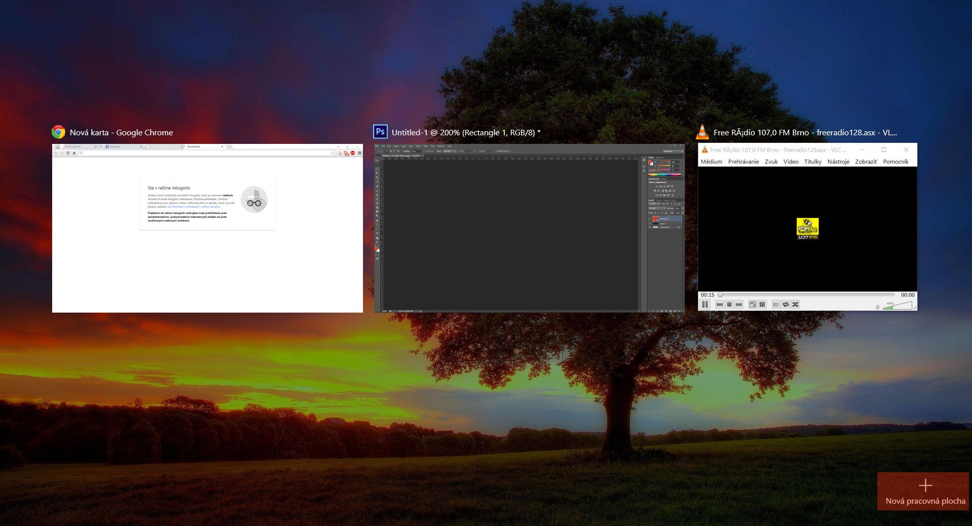 Windows 10 – Ako vytvoriť virtuálnu plochu