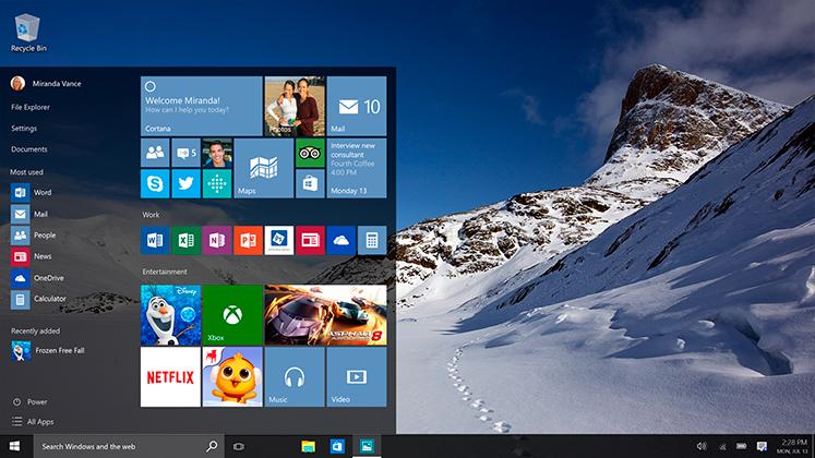Užitočné klávesové skratky pre Windows 10
