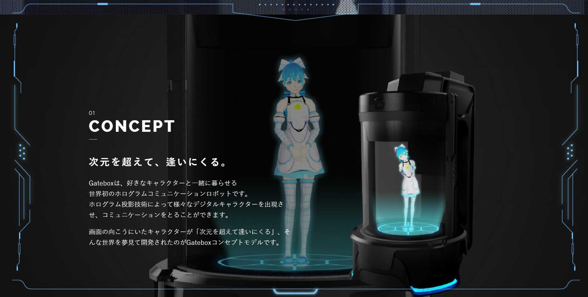 Japonci vyvíjajú holografickú asistentku v štýle anime